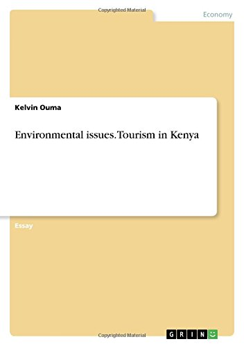 9783668261167: Environmental Issues. Tourism in Kenya
