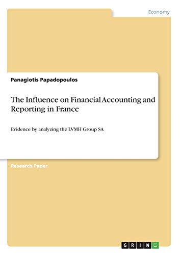 The Influence on Financial Accounting and Reporting: Panagiotis Papadopoulos
