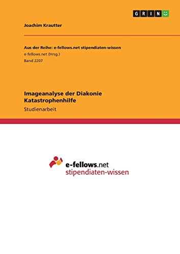 Imageanalyse der Diakonie Katastrophenhilfe: Krautter, Joachim