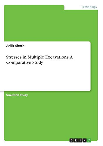 Stresses in Multiple Excavations. A Comparative Study: Arijit Ghosh