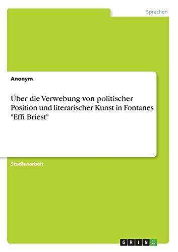 Über die Verwebung von politischer Position und: Anonym