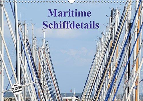 9783669094368 - Martina Busch: Maritime Schiffdetails (Wandkalender 2018 DIN A3 quer): Der Zauber von Schiffen steckt im Detail (Geburtstagskalender, 14 Seiten ) - Buch