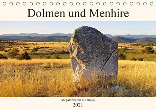 9783672042578: Dolmen und Menhire - Megalithkultur in Europa (Tischkalender 2021 DIN A5 quer): Eine Reise in die Steinzeit (Monatskalender, 14 Seiten )