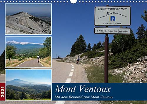 9783672121105: Mit dem Rennrad zum Mont Ventoux (Wandkalender 2021 DIN A3 quer): Bilder von Radtouren um und auf den Mont Ventoux (Monatskalender, 14 Seiten )
