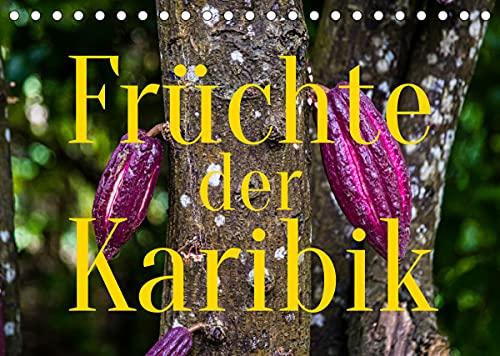 Früchte der Karibik (Tischkalender 2022 DIN A5 quer) : Farbenfrohe Exotik, die Appetit macht (Monatskalender, 14 Seiten ) - Georg Berg
