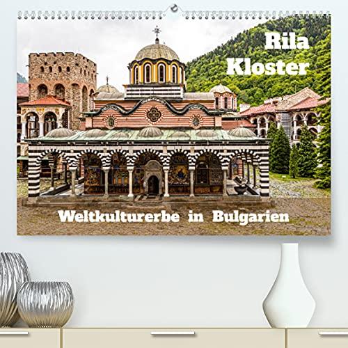Rila Kloster - Weltkulturerbe in Bulgarien (Premium, hochwertiger DIN A2 Wandkalender 2022, Kunstdruck in Hochglanz) : Kulturelles Kleinod im Rila-Gebirge (Monatskalender, 14 Seiten ) - Georg Berg