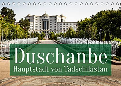 Duschanbe - Hauptstadt von Tadschikistan (Tischkalender 2022 DIN A5 quer) : Dushanbe auf deutsch: Montagsmarkt (Monatskalender, 14 Seiten ) - Georg Berg