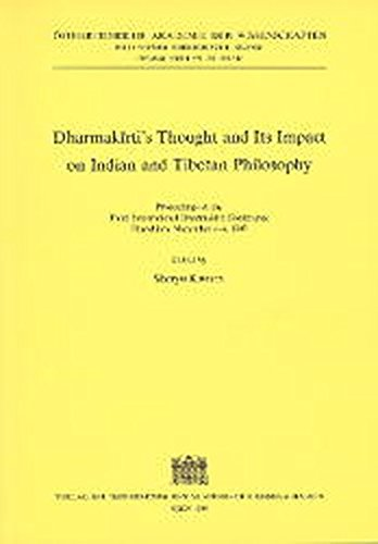 9783700128526: Dharmakirtis Thought and its Impact on Indian and Tibetan Philosophy (Beitrage Zur Kultur- Und Geistesgeschichte Asiens)