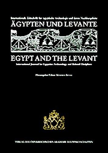 ägypten und levante. internationale zeitschrift für ägyptische: bietak, manfred (hrsg./ed)