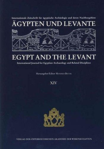 Ägypten und Levante /Egypt and the Levant.: Bietak Manfred