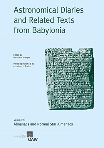 9783700176275: Astronomical Diaries and Related Texts from Babylonia: Almanacs and Normal Star Almanacs