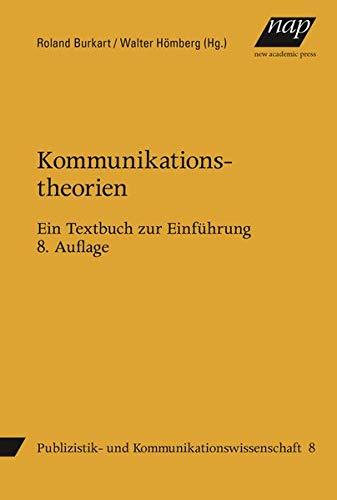 9783700319436: Kommunikationstheorien