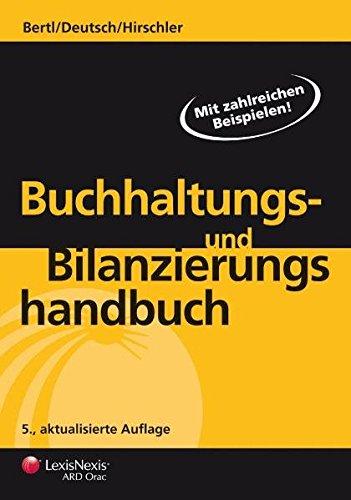 9783700736448: Buchhaltungs- und Bilanzierungshandbuch (Livre en allemand)