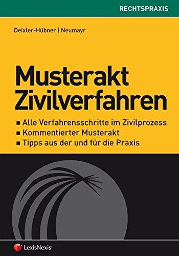 9783700756705: Musterakt Zivilverfahren (f. Österreich)