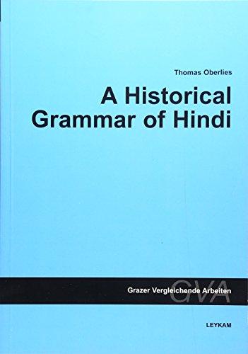 9783701100491: A Historical Grammar of Hindi