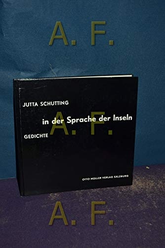 9783701304813: In der Sprache der Inseln: Gedichte (German Edition)