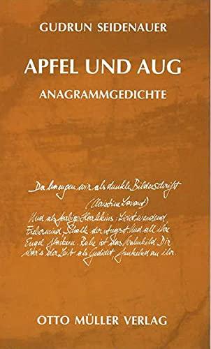 9783701309269: Apfel und Aug: Anagramme
