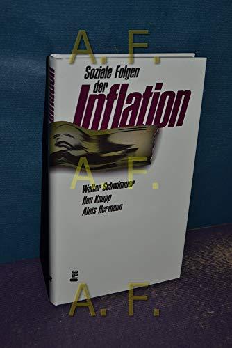 Soziale Folgen der Inflation: Schwimmer Walter, Knapp Ilan, Hermann Alois