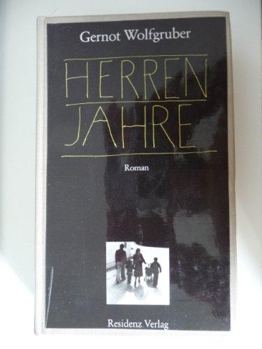 9783701701599: Herrenjahre: Roman (German Edition)