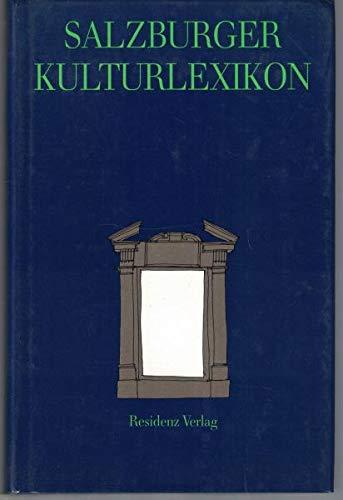 9783701705030: Salzburger Kulturlexikon