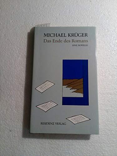 9783701706563: Das Ende des Romans: Eine Novelle