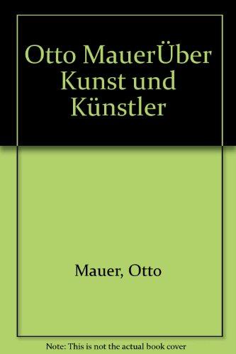 9783701707867: Über Kunst und Künstler (German Edition)
