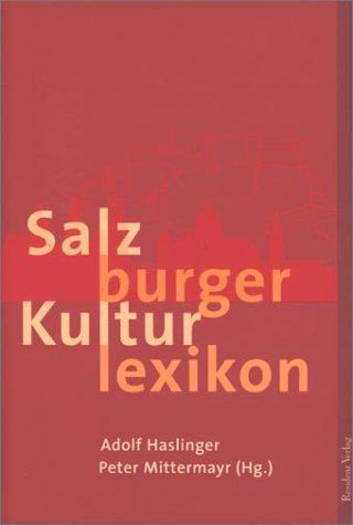 9783701711291: Salzburger Kulturlexikon