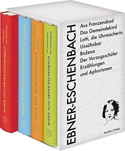 Marie von Ebner-Eschenbach, Leseausgabe in vier Bänden: Marie von Ebner-Eschenbach