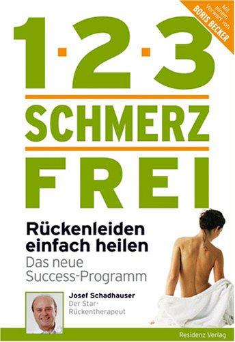 9783701730254: 1-2-3 schmerzfrei - Die Rückenfibel