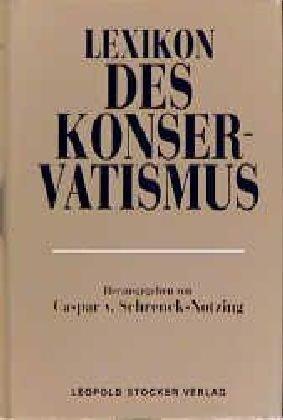 9783702007607: Lexikon des Konservatismus