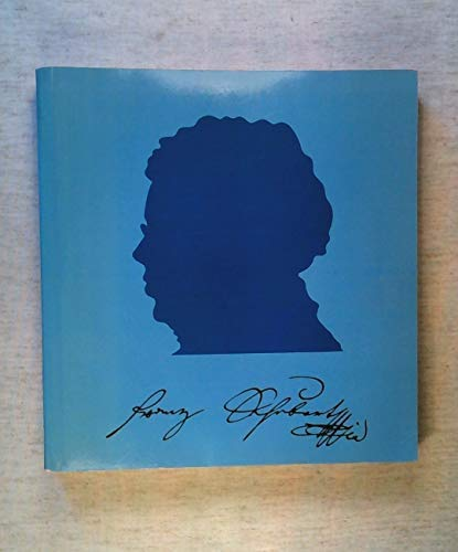 Franz Schubert: Catalogue of the Exhibition in