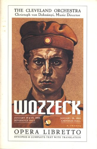 9783702401375: Wozzeck: Opera Libretto (Synopsis & Complete Text with Translation)