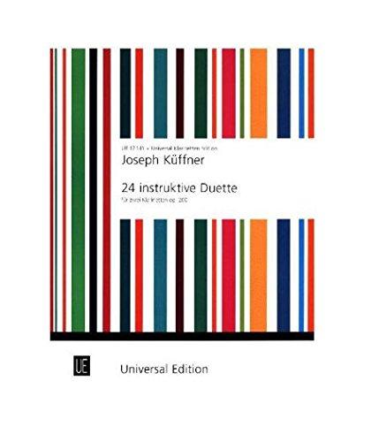 9783702405335: Instruktive Duette(24) Opus 200