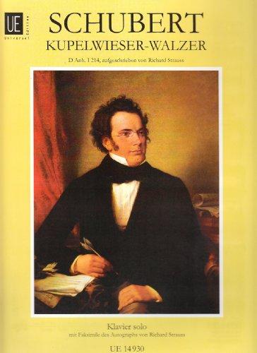 9783702405342: Walzer - Kupelwieser: D Anh. I, 14. für Klavier.