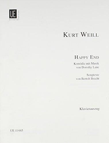 9783702410001: Happy End: Vocal Score