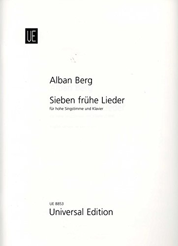 9783702411237: 7 Frühe Lieder - High Voice and Piano - Book
