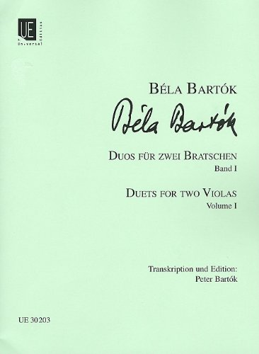 9783702414627: 44 Duets for Two Violas - Volume 1