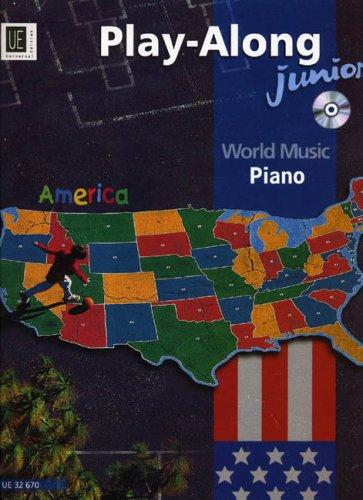 9783702416966: Play-along Junior America: Piano - World Music