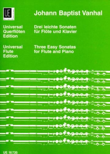 9783702417390: VANHAL J.B. - Sonatas Faciles (3) para Flauta y Piano