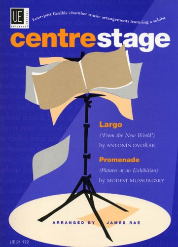 9783702418960: Centrestage: Full Score and Parts v. 1: Four-part Flexible Chamber Music Arrangements Featuring a Soloist
