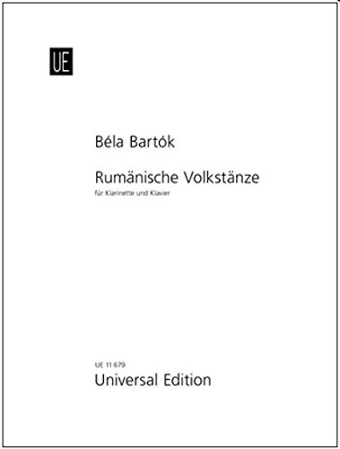 9783702420611: Roumanian Folk Dances: for Clarinet and Piano (English, French and German Edition)