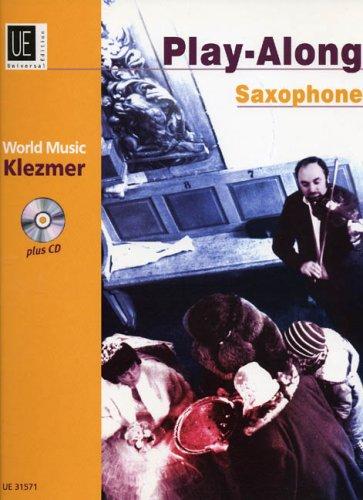 World Music Klezmer plus cd (Play-Along Saxophone, Alto Tenor Saxophone) (3702425071) by [???]