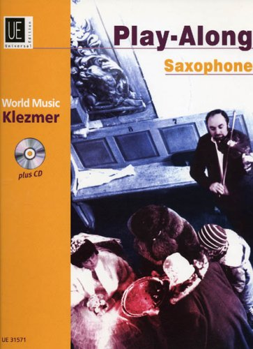 9783702425074: World Music Klezmer plus cd (Play-Along Saxophone, Alto Tenor Saxophone)