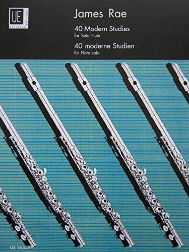 9783702425104: 40 Modern Studies for Flute: UE16589