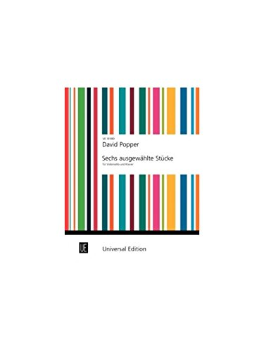 9783702425296: Popper: Six Selected Pieces for Cello & Piano