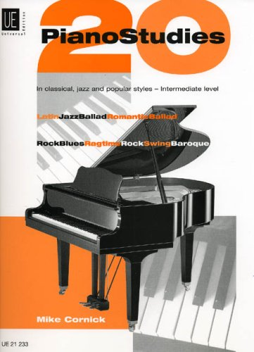 9783702425708: 20 Piano Studies in Classical, Jazz and Popular Pieces