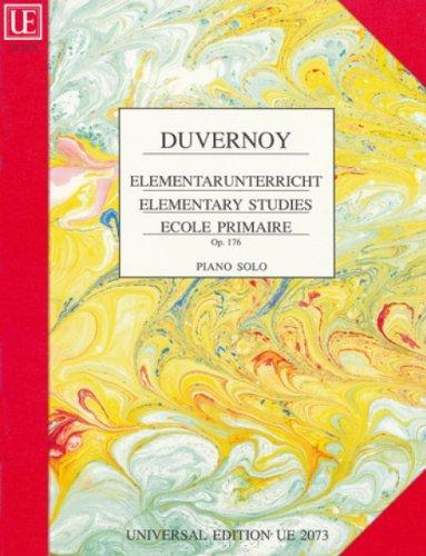 9783702427252: UNIVERSAL EDITION DUVERNOY - ECOLE PRIMAIRE OP.176 Partition classique Piano - instrument à clavier Piano
