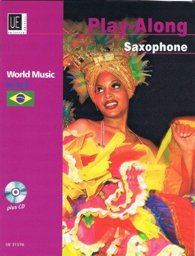 9783702430115: Brazil Songs: World Music - Brazil, Play-Along Saxophone