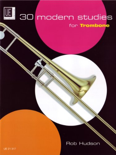 30 Modern Studies for Trombone: UE21317: Hudson, Robert