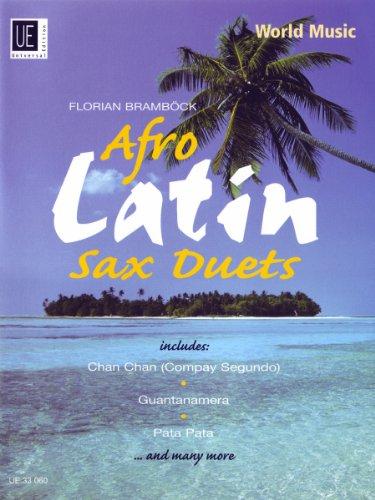 9783702430436: Afro Latin: UE33060: Saxophone Duets